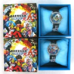 Bakugan Cartoon watch Wristwatches with Boxes Christmas gift