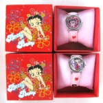 Betty Boop watch Children wristwatch with box