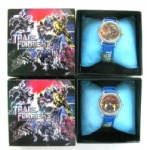 Transformers Cartoon Children Watch Gift Box Retail Packaging