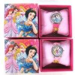 Snow White Princess Cartoon Girl`s Watches