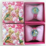 Tinker bell Child Watch Girls Lady Quartz Steel Wrist Watch