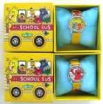 Sesame Street Lovely Kids Watch Cartoon Quartz Watch with Box