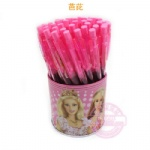 Barbie Cartoon style ball pen, Novelty promotional pen