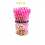Strawberry Shortcake Cartoon style ball pen, Novelty promotional pen