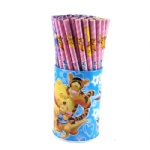 Winnie The Pooh wooden cartoon holder pencil