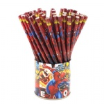 Spiderman Wooden Pencil Cartoon Animal Pencil preschool education pencil