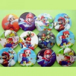 Super Mario 3 cm Button Pins Badge Wholesale