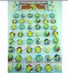 Pikachu 3 cm badge pin random new